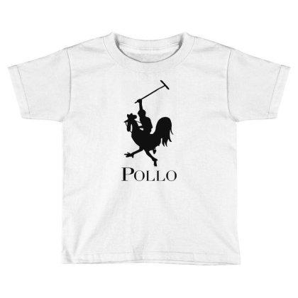 Pollo Toddler T-shirt Designed By Sam Soe