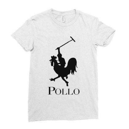 Pollo Ladies Fitted T-shirt Designed By Sam Soe