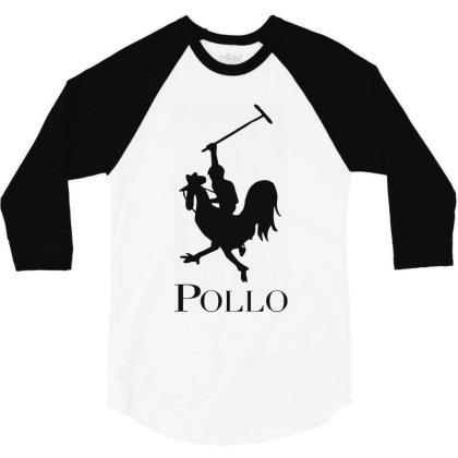Pollo 3/4 Sleeve Shirt Designed By Sam Soe
