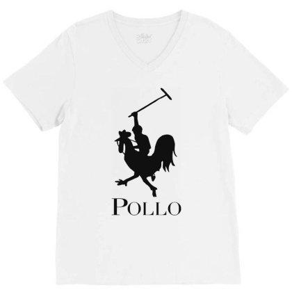 Pollo V-neck Tee Designed By Sam Soe