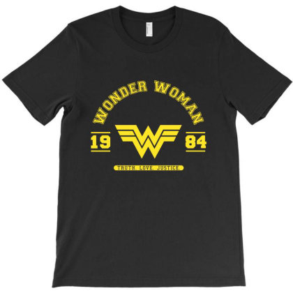 Wonder Woman 1984 Collegiate T-shirt Designed By Victor_33