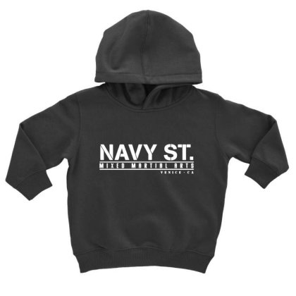 Navy Street Kingdom Mma Mixed Martial Arts Toddler Hoodie Designed By Schulz-12