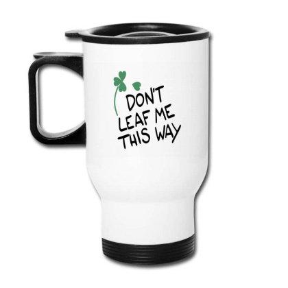 Leaf Travel Mug Designed By Disgus_thing