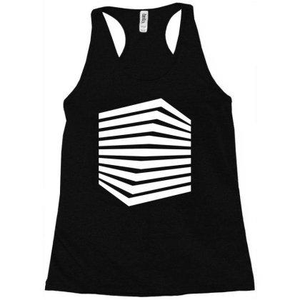 Cube Racerback Tank Designed By Victor_33