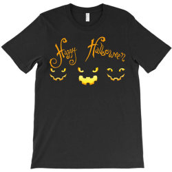 Happy Halloween T-shirt Designed By Badaudesign