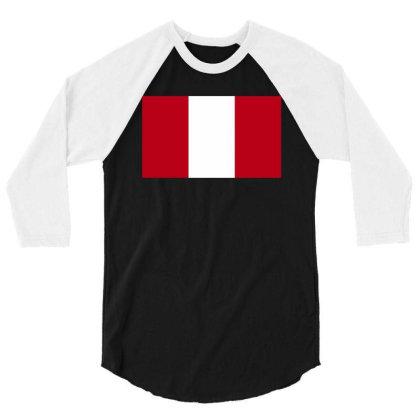 Austria Flag 3/4 Sleeve Shirt Designed By Sengul