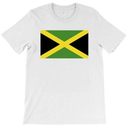 Jamaica Flag T-shirt Designed By Sengul