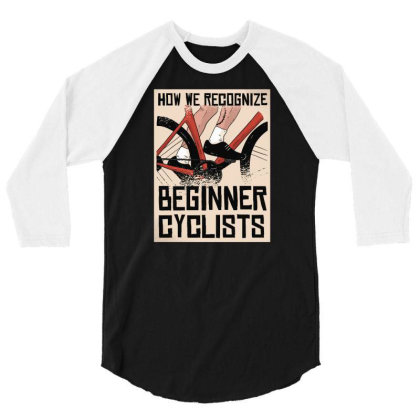 Beginner Cyclists 3/4 Sleeve Shirt Designed By Igaart