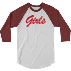 FRIENDS GIRLS (Red Print) 3/4 Sleeve Shirt | Artistshot