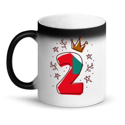 Birthday Number Editable Magic Mug Designed By Igaart