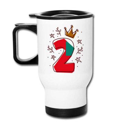 Birthday Number Editable Travel Mug Designed By Igaart