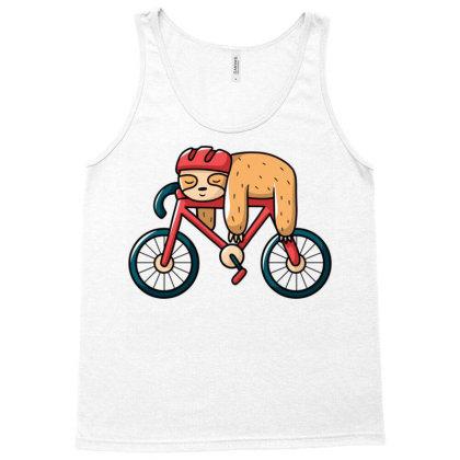 Bike Sloth Tank Top Designed By Igaart