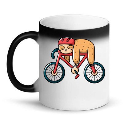 Bike Sloth Magic Mug Designed By Igaart