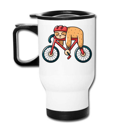 Bike Sloth Travel Mug Designed By Igaart