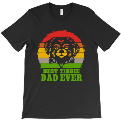 Vintage Best Tibbie Dad Ever Father's Day T-shirt Designed By Andromeda