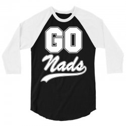 Go Nads T-Shirt 3/4 Sleeve Shirt | Artistshot