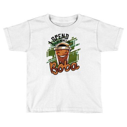 Bubble Tea Toddler T-shirt Designed By Igaart