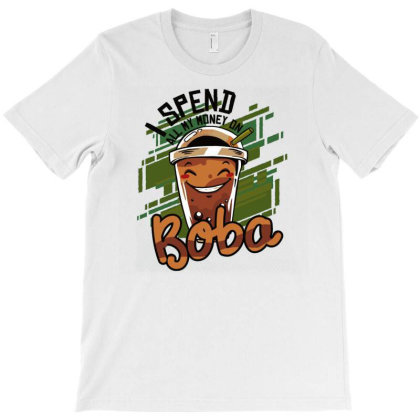Bubble Tea T-shirt Designed By Igaart