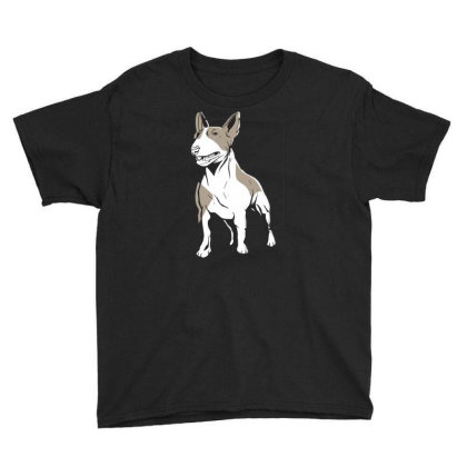 Bull Terrier Youth Tee Designed By Igaart