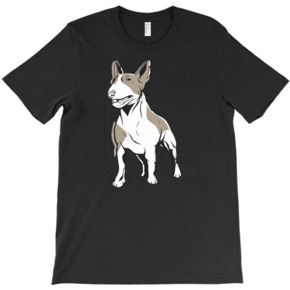 Bull Terrier T-shirt Designed By Igaart