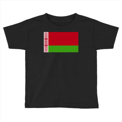 Belarus Flag Toddler T-shirt Designed By Sengul