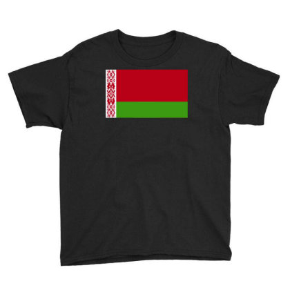 Belarus Flag Youth Tee Designed By Sengul