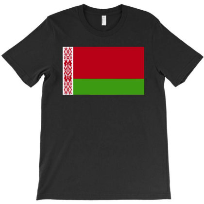 Belarus Flag T-shirt Designed By Sengul