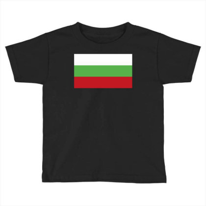 Bulgaria Flag Toddler T-shirt Designed By Sengul