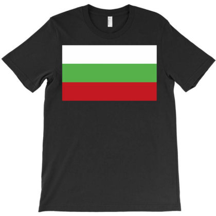 Bulgaria Flag T-shirt Designed By Sengul
