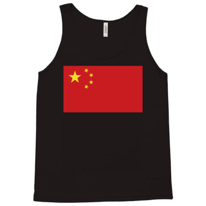 China Flag Tank Top Designed By Sengul