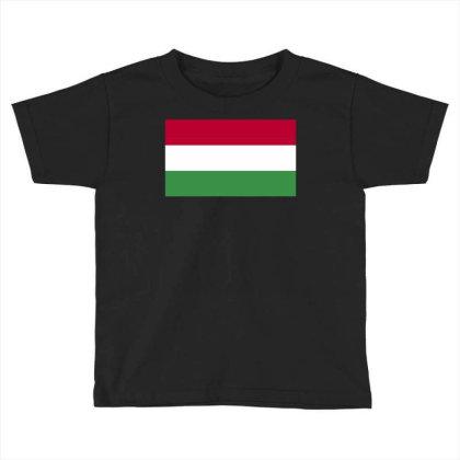 Hungary Flag Toddler T-shirt Designed By Sengul