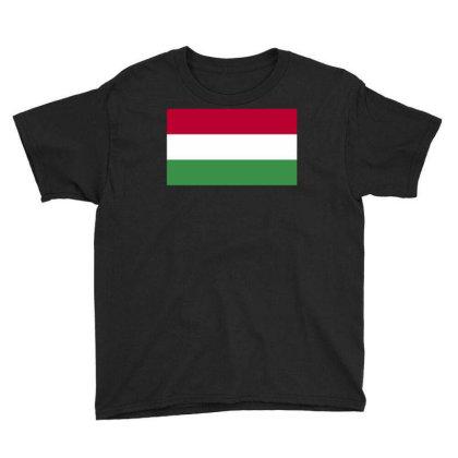 Hungary Flag Youth Tee Designed By Sengul