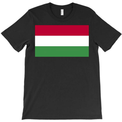 Hungary Flag T-shirt Designed By Sengul