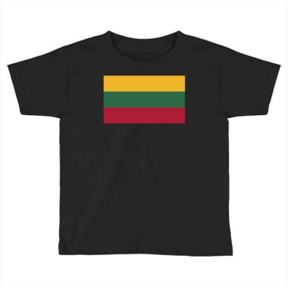 Lithuania Flag Toddler T-shirt Designed By Sengul