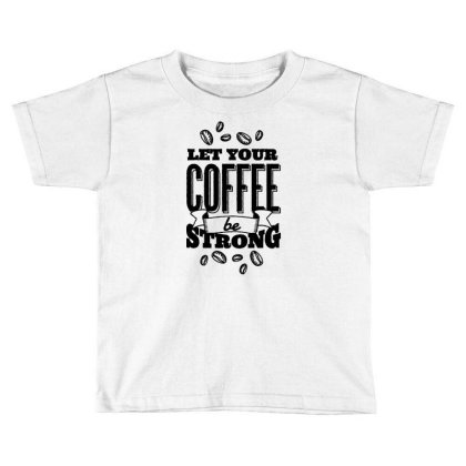 Calligraphic Coffee Toddler T-shirt Designed By Igaart