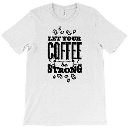 Calligraphic Coffee T-shirt Designed By Igaart