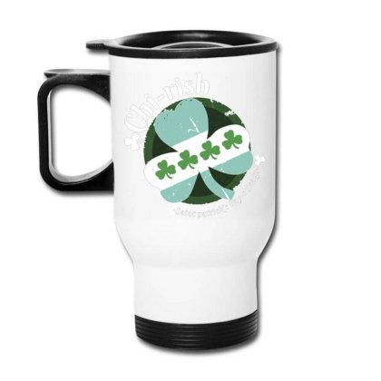 Chicago Irish Travel Mug Designed By Igaart