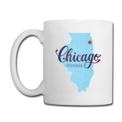 Chicago Illinois Map Coffee Mug Designed By Igaart