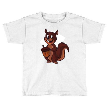 Chipmunk Toddler T-shirt Designed By Igaart