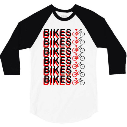 Bikes 2020 Viral 3/4 Sleeve Shirt Designed By Dampuot Apparel