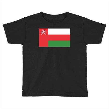 Oman Flag Toddler T-shirt Designed By Sengul