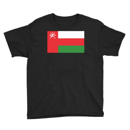 Oman Flag Youth Tee Designed By Sengul