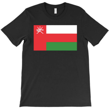Oman Flag T-shirt Designed By Sengul