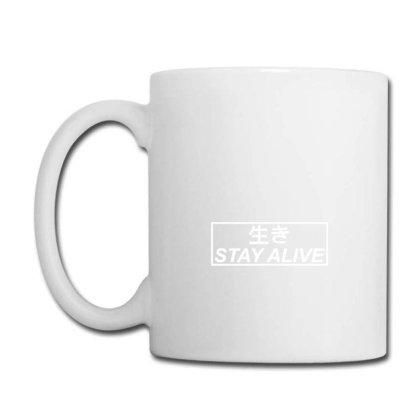 Kanji Stay Alive Coffee Mug Designed By Hendrise