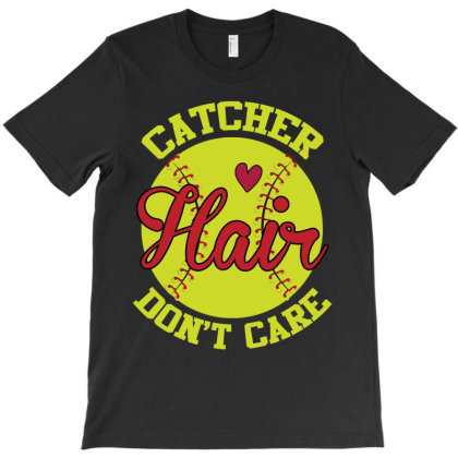 Catcher Hair Don't Care T-shirt Designed By Iconshop