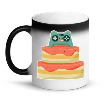 Controller Birthday Cake Magic Mug Designed By Igaart