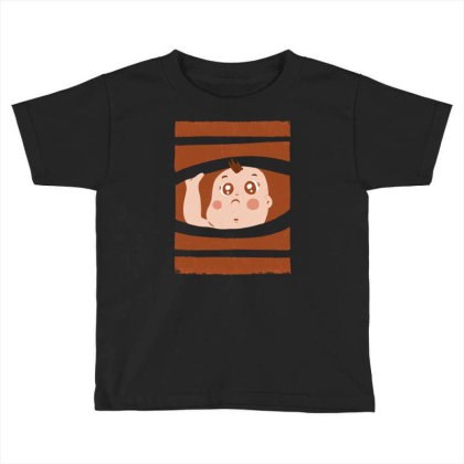 Curious Baby Toddler T-shirt Designed By Igaart