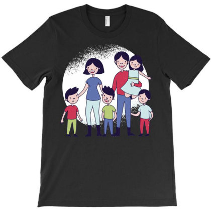 Cute Family T-shirt Designed By Igaart