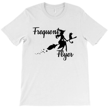 Frequent Flyer Witch T-shirt Designed By Ooredoo