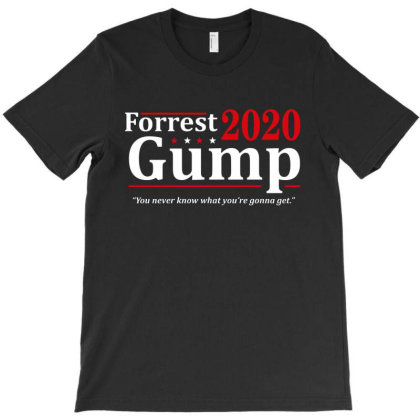 Forrest Gump 2020 Election T-shirt Designed By Ooredoo